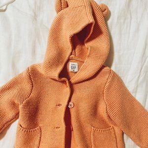 Fall baby sweater